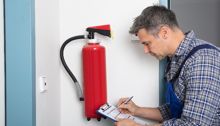 Fire Extinguisher Servicing Leeds